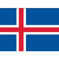 Vlag Iceland flag for Hire per week