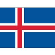 Vlag Ijsland vlag te huur per week