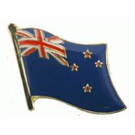 Speldje New Zealand flag lapel Pin