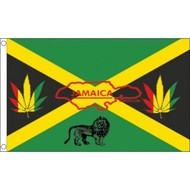 Vlag Jamaica Reggae flag
