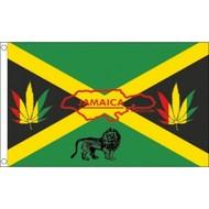 Vlag Jamaica Reggae vlag