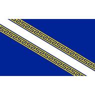 Vlag Champagne province flag