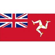 Vlag Isle of Man Handelsvlag