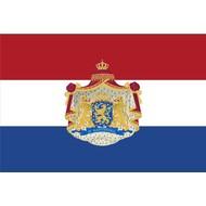 Vlag Nederland vlag met Wapen