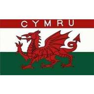Vlag Wales Cymru vlag