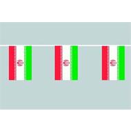 Vlaggenketting Iran flag chain bunting