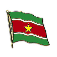 Speldje Suriname flag lapel pin