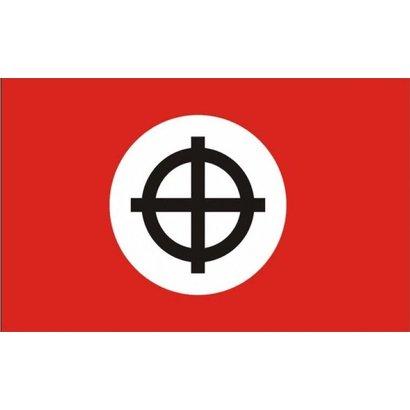 Vlag Celtic Cross red flag