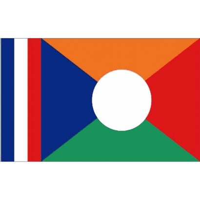 Vlag Reunion Eiland vlag