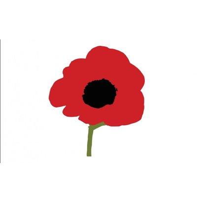 Vlag Poppy vlag