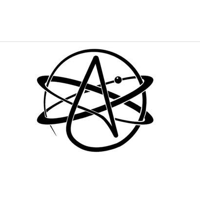 Vlag Atheisme vlag