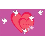 Vlag I Love You