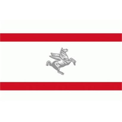 Vlag Italia Toscane Regio vlag