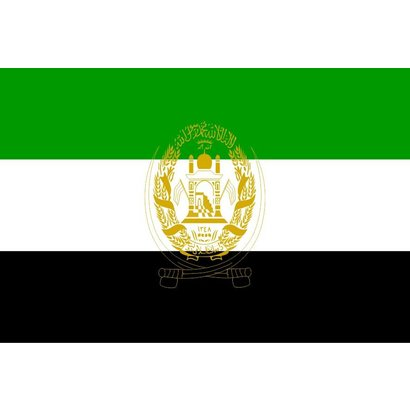 Vlag Afghanistan Islamitische Staat vlag 2001