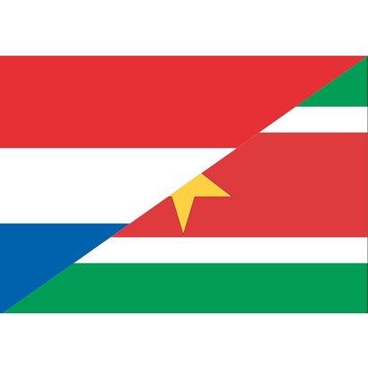 Vlag Nederland Suriname Surinaamse vlag