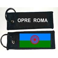 Sleutelhanger / Keyring Roma Zigeuner vlag sleutelhanger keyring