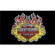 Vlag Harley Davidson vlag