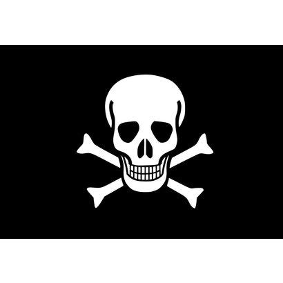 Vlag Pirate Skull Jolly Roger vlag