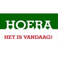 Vlag Hoera Het is Vandaag! vlag 180 x 130cm