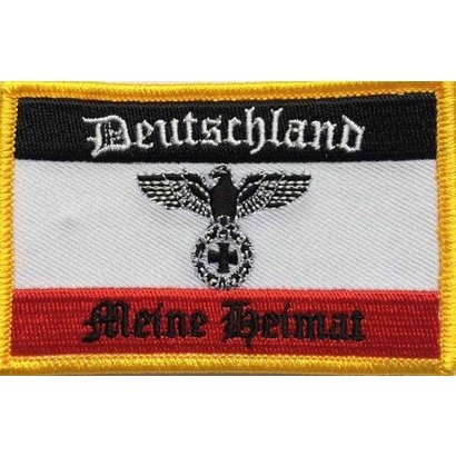 Patch DR Duitsland vlag patch Meine Heimat