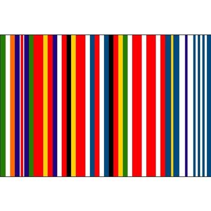 Vlag Europa Koolhaas Streepjescode vlag