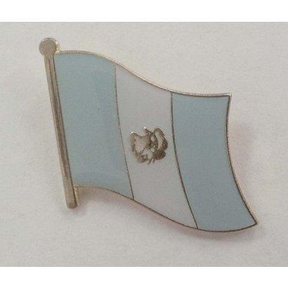 Speldje Guatemala flag lapel pin