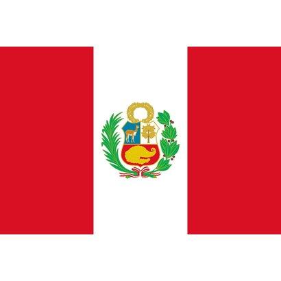 Vlag Peru Peruaanse state vlag