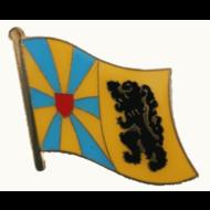 Speldje West Vlaanderen vlag speldje