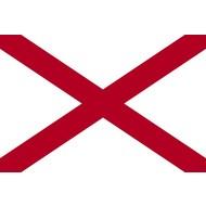 Vlag Alabama State flag