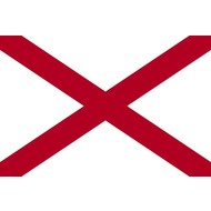 Vlag Alabama State vlag