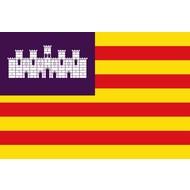 Vlag Balearic Islands flag