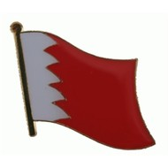Speldje Bahrain flag lapel pin