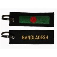 Sleutelhanger / Keyring Bangladesh flag Keyring