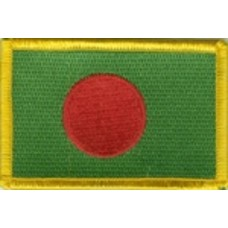 Patch Bangladesh vlag patch