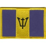 Patch Barbados flag patch