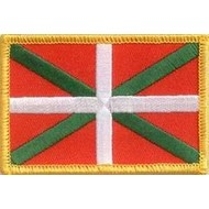 Patch Basque country flag patch