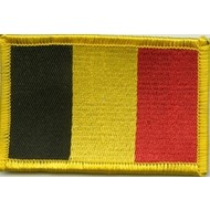 Patch Belgium flag patch