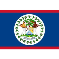 Vlag Belize Beliziaanse vlag