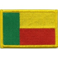 Patch Benin flag patch