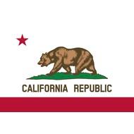 Vlag California flag
