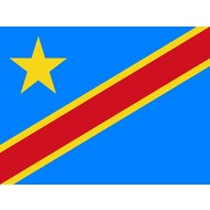 Vlag Congo Kinshasa DR from 2006