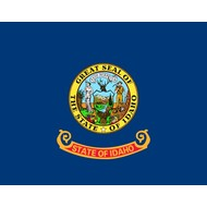 Vlag Idaho Staat vlag