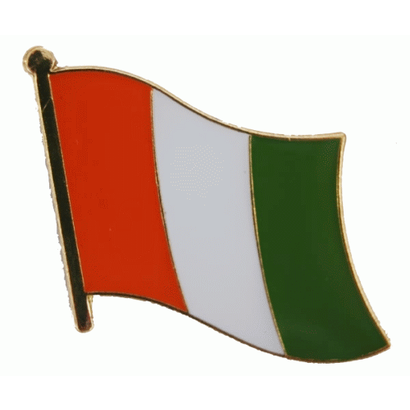 Speldje Ivory Coast flag lapel pin