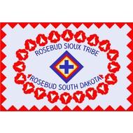 Vlag Rosebud Sioux Indian Tribe flag