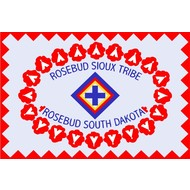 Vlag Rosebud Sioux Indian Tribe vlag