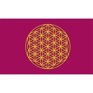 Vlag Flower of Life flag