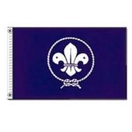 Vlag Blue Scouts Padvinder vlag