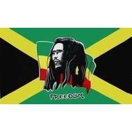 Vlag Bob Marley Freedom vlag