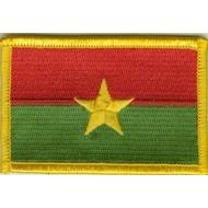 Patch Burkino Faso vlag patch