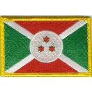 Patch Burundi vlag patch